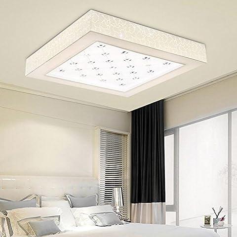 NHD-Led acrylic lamp ceiling lamp rectangular living