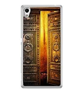 PrintVisa Designer Back Case Cover for Sony Xperia Z3+ :: Sony Xperia Z3 Plus :: Sony Xperia Z3+ dual :: Sony Xperia Z3 Plus E6533 E6553 :: Sony Xperia Z4 (Devine Art Ancient Door )