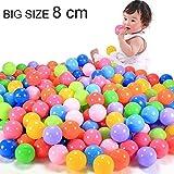 TruGood 100pcs Colorful Fun Balls Soft P...