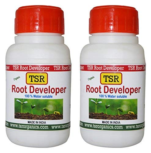 TSR Organic Fertilisers & Pesticides Root Developer with Humic and Fulvic Acid for Plant Growth Promoter, 125ml - Pack of 2