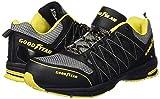 Goodyear GYSHU1502, Zapatillas de Seguridad para Hombre, Negro (Black/Yellow), 41 EU