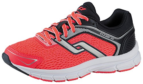 PRO TOUCH Chaussures de Course pour Enfant Chaussures de sport VII élixir Bleu/Rose Bleu marine/rose