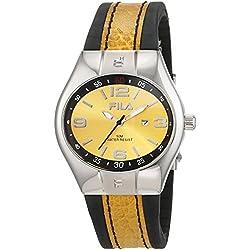 Fila Men's Quartz Watch 642268 with Leather Strap