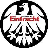 Eintracht Frankfurt Germany Retro Soccer Football Hochwertigen Auto-Autoaufkleber 12 x 12 cm