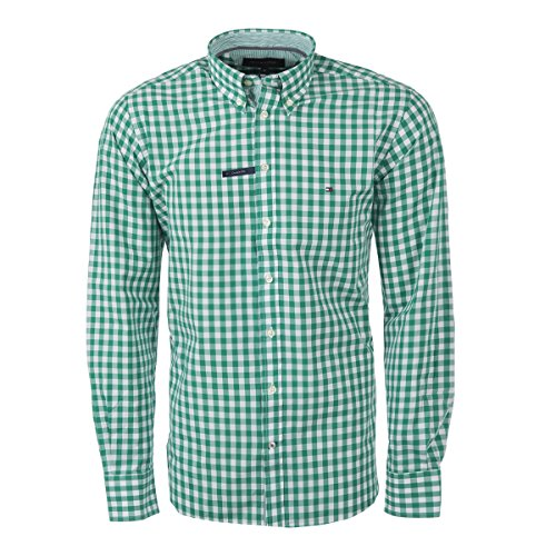 Tommy Hilfiger Custom-Fit Hemden (XL, Grün)