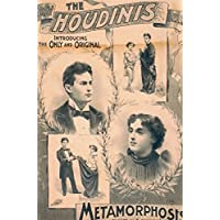 JP London Heavyweight Non Woven Art Prepasted Removable Wall Mural Vintage Houdini Magic Poster at 2 Wide by 3 Feet High SPMURLT2293 preiswert