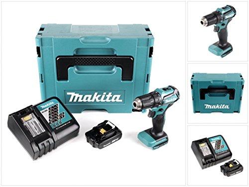 Preisvergleich Produktbild Makita DDF 483 Y1J-P 18 V Akku Bohrschrauber Bürstenlos Brushless im Makpac + 1x BL 1820 2,0 Ah Akku + DC18RC Ladegerät