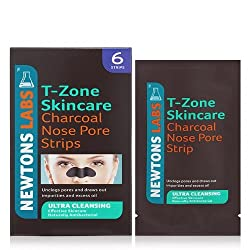 T-zone Charcoal & Tea Tree Ultra Cleansing Nose Pore Strips - Pack Of 6