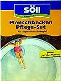 Söll Pool Pflege-Set für Pool, Schwimmbad, Planschbecken und auch Hundepool gegen Algen,...