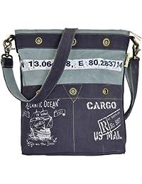 238c2742f54d4 Sunsa Canvas Umhängetasche kleinee Damen Schultertasche Crossbody Tasche  Handtasche Damentasche Henkeltasche Handgelenktasche…