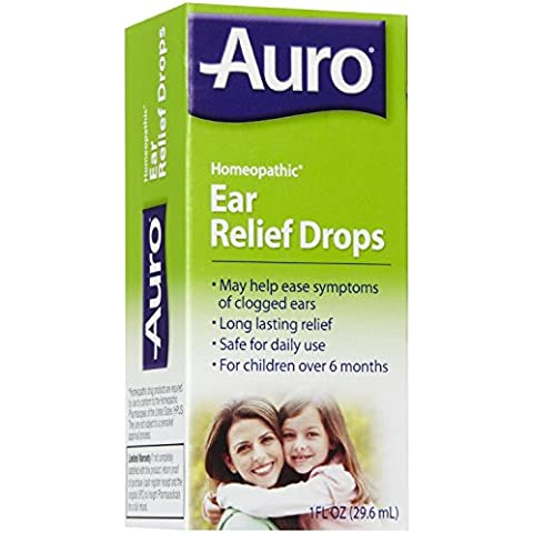 Auro Earache relief ear drops relieves earche pain - 1