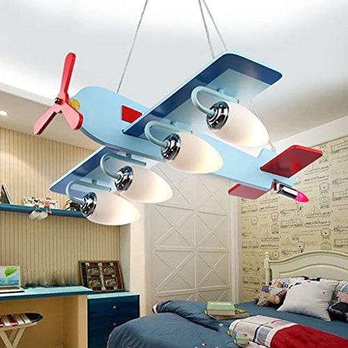 ZHANWEI Pendelleuchte Karikatur-LED-Augen-Schutz-Kronleuchter-Kinderzimmer-Schlafzimmer-Lampen Kreative Atmosphäre-Karikatur-niedlicher Kronleuchter Hängeleuchte -