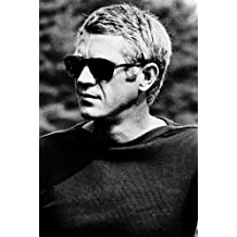affiche steve mcqueen. Black Bedroom Furniture Sets. Home Design Ideas
