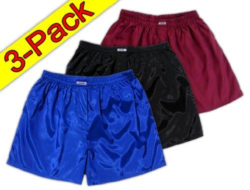 l-blau-schwarz-weinrot-3er-pack-boxershort-boxershorts-herren-unterwasche-satin-glanz-boxer-short