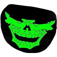 Eizur Leuchtend Mund Gesicht Maske Mundmaske Unisex Baumwolle Schädel Skelett Anti-Staub Warm Kreativ Mundschutz... preisvergleich bei billige-tabletten.eu