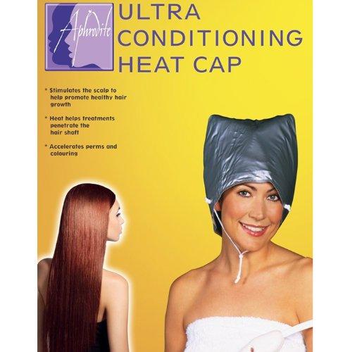 Aphrodite Ultra Hair Conditioning-Kappe - Schwarze Hot-öl-behandlung Haare Für