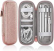 AGPTEK Apple Pencil 2 Case Holder, Premium Carrying Case for Stylus iPad Pro Pen, Pencil, Samsung, Huawei, App
