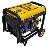Generatore di corrente 4.5 kw diesel - gruppo elettrogeno avviamento elettrico e manuale