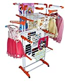 #4: Truphe Cloth Drying Stand 3 Poll and 3 Layer Clothes Hanger ( 7 Years Warranty MADE IN INDIA)