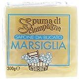 Spuma di Sciampagna - Sapone da Bucato Marsiglia - 4 pezzi da 300 g [1200 g]