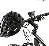 Wicked Chili Fahrrad Halterung für GoPro Hero 5 / 4 / 3, Activeon, A-Rival, DBPOWER, Garmin, QUMOX, Rollei, TomTom Action / Sport Cam (Befestigung mit Kabelbinder, Designed in Germany) -