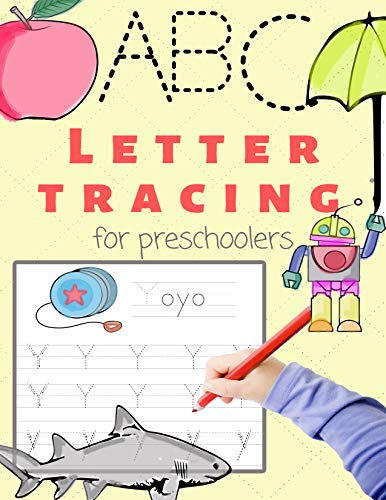 Letter Tracing: for preschooler ages 4-8 (English Edition) -
