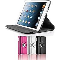 Cuero negro 360 Degree función atril para Apple iPad Mini One Direction