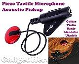 #6: Gadget Hero's Transducer, Acoustic Piezo Tactile Microphone Contact Pickup For Guitar Violin Mandolin Ukulele Banjo.