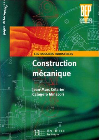 Construction mécanique, BEP. Elève