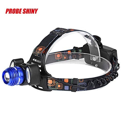 15000Lm 3x XML T6 LED Headlamp Rechargeable Headlight 18650 Head Torch Light Lamp (Led-taschenlampe 15000 Lumen)