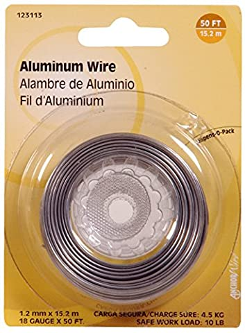 The Hillman Group 123113 18 Aluminum Display Package, 50-Feet, 1-Pack by The Hillman Group