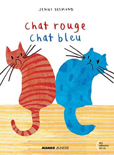 Chat rouge chat bleu