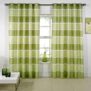 green and white kitchen curtains lime green eyelet curtains santana 56 quot x 108 quot co 6925