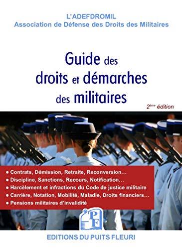 Guide des droits et démarches des militaires par ADEFDROMIL