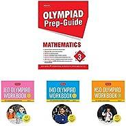 Olympiad Prep-Guide Mathematics Class - 3&International English Olympiad Workbook - Cl&International M