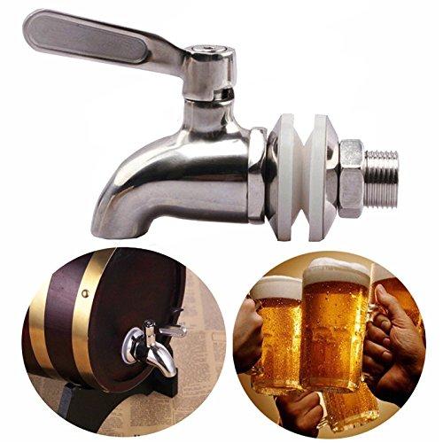 * SODIAL es una marca registrada. Solo el vendedor autorizado de SODIAL puede vender los productos de SODIAL. Nuestros productos va a mejorar su experiencia de la inspiracion sin igual. SODIAL(R) Grifo llave de acero inoxidable Grifo de cerveza de ba...