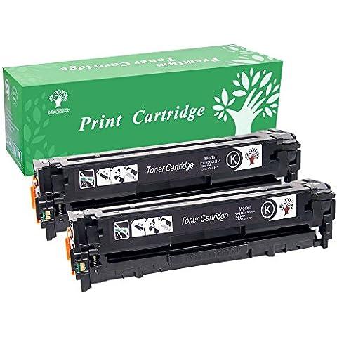 greensky nuovo nero CF210A CF211A CF212A CF213A magenta giallo Ciano Compatibile HP 131A cartuccia toner per stampanti Laserjet Pro 200Color M251M276nw Toner 2 x B