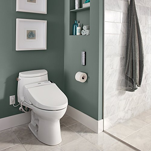 TOTO SW2044#01 Elongated C200 Washlet, Cotton White by Toto