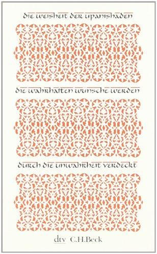 Buchseite und Rezensionen zu 'Die Weisheit der Upanishaden (dtv Fortsetzungsnummer 31)' von Axel Michaels