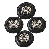Cnbtr 22.5/x 13.5/mm 8/mm ID argento 440/C in acciaio INOX cuscinetti a sfera puleggia ruota porta Wire traccia di