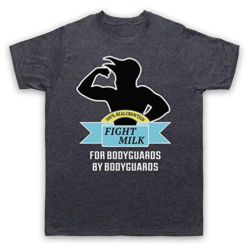 Inspiriert durch It's Always Sunny In Philadelphia Fight Milk Inoffiziell Herren T-Shirt Jahrgang Schiefer