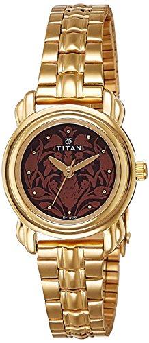 51ANE%2B9i07L - Titan 2534YM03 Brown Women watch