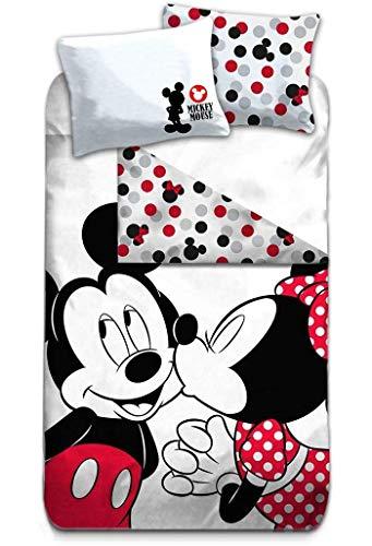 Funda Nordica Mickey Y Minnie 150.Aymax Disney S Mickey Minnie Mouse Maus Bettwasche 135x200cm 80x80cm 100 Baumwolle