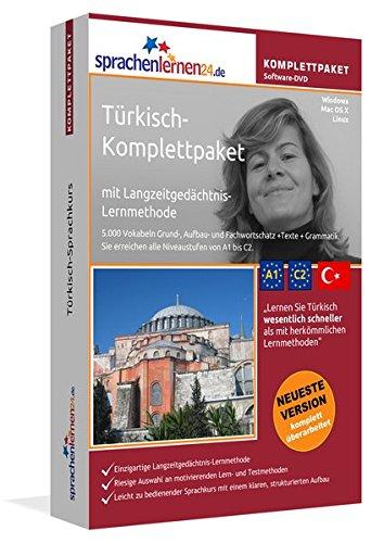 Türkisch-Komplettpaket: Lernstufen A1 bis C2. Fließend Türkisch lernen mit der Langzeitgedächtnis-Lernmethode. Sprachkurs-Software auf DVD für Windows/Linux/Mac OS X