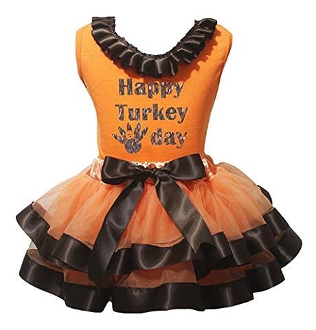 Turquie Dress Outfit - petitebelle Bling Happy Turquie Day Orange pour