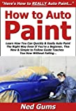 How to Auto Paint: Learn How You Can Quickly & Easily Auto Paint The Right Way Even If You're a Beginner, This New & Simple to Follow Guide Teaches You How Without Failing