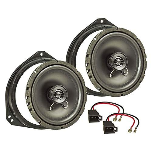 tomzz Audio ® 4039-000 Lautsprecher Einbau-Set für Opel Corsa B und C Tigra Vivaro Fronttür 165mm
