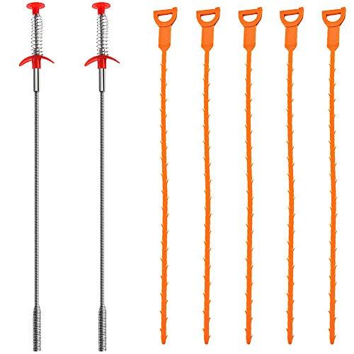 7-confezione-drain-snake-senhai-20-pollici-di-scarico-dei-capelli-clog-remover-scolate-relief-auger-