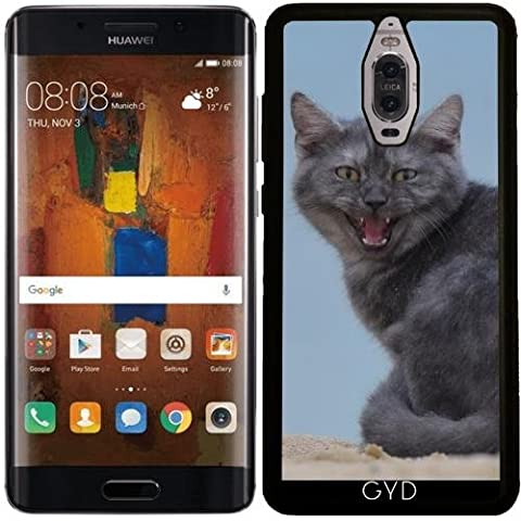 Coque Silicone pour Huawei Mate 9 Pro - Dangereux Chat