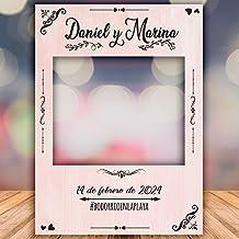 setecientosgramos Photocall Pink| Ventana Pink| Marco Pink| PhotoBooth Pink (Cartón 4mm)